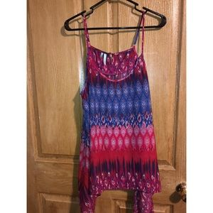 Women's BOHO tank top XL from Maurices